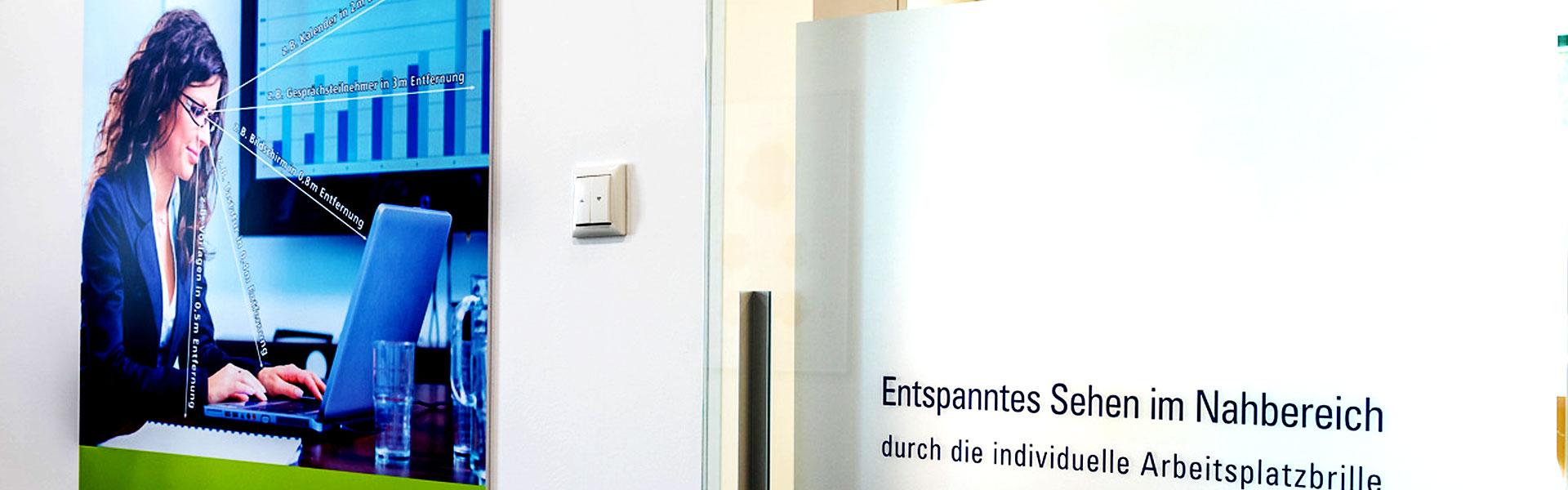 Arbeitsplatzbrille Augenoptiker Dotterweich
