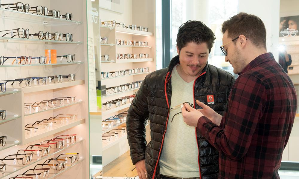 Professionelle Brillenberatung